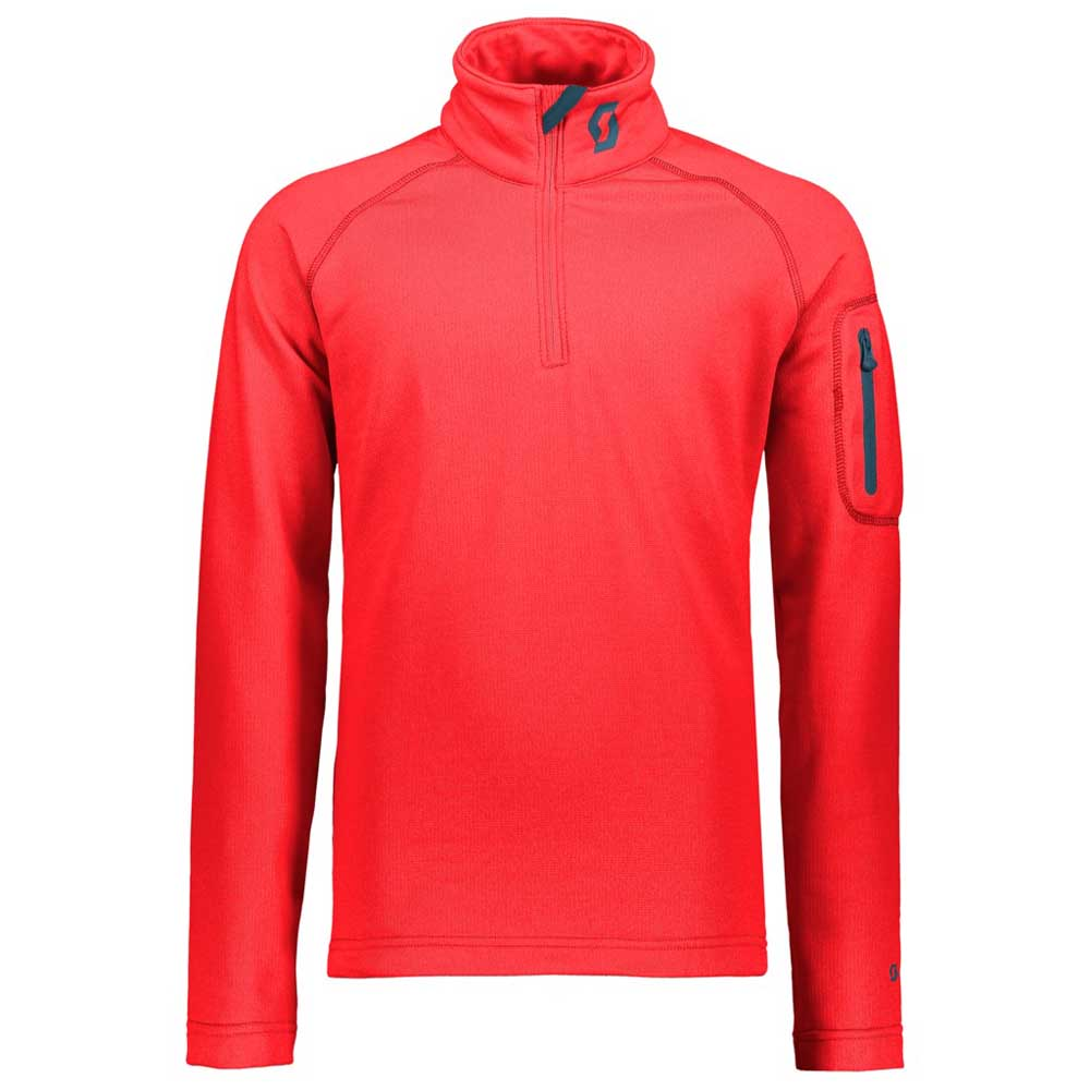 Scott 1/2 Zip Defined Light Long Sleeves