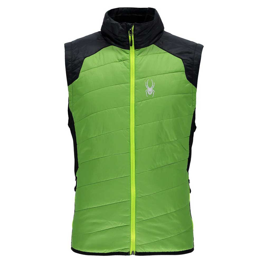 53ee9ba90f111 Spyder Glissade Insulator Vest Green buy and offers on Snowinn