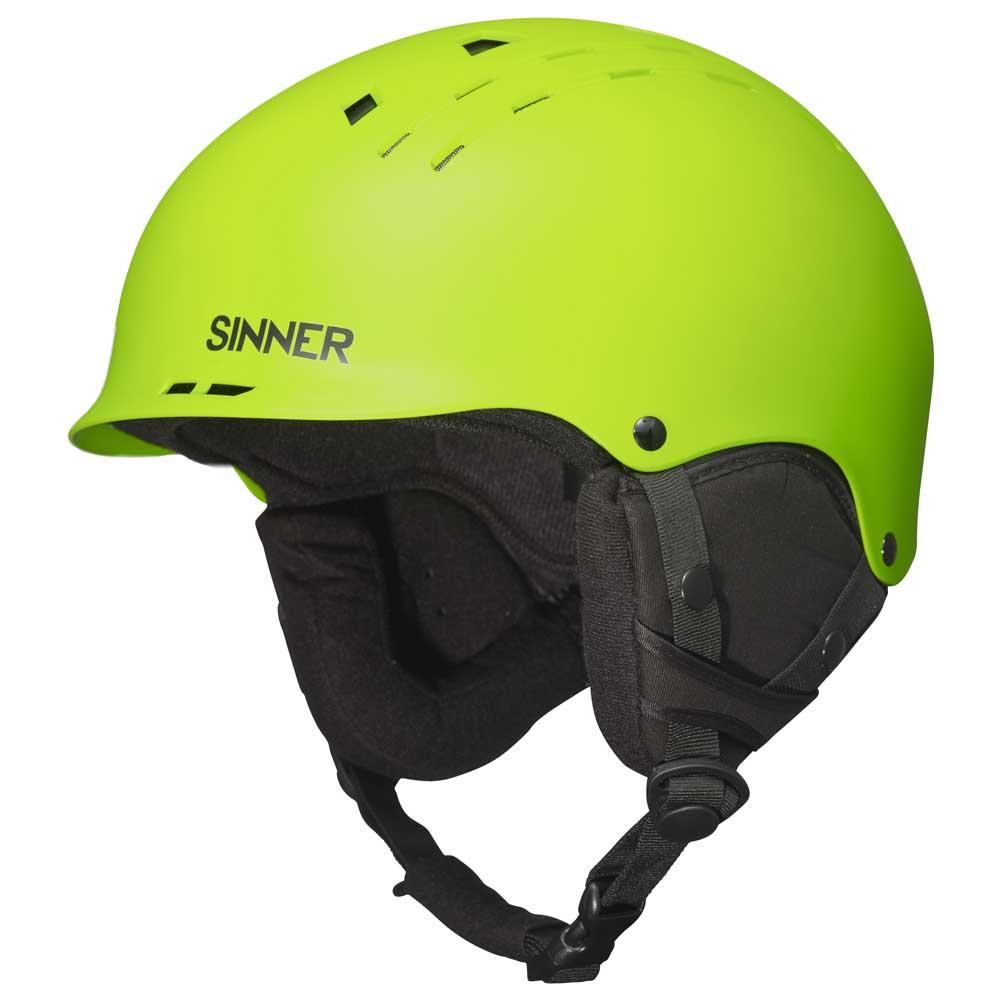 sinner pincher 緑購入 特別提供価格 snowinn ヘルメット