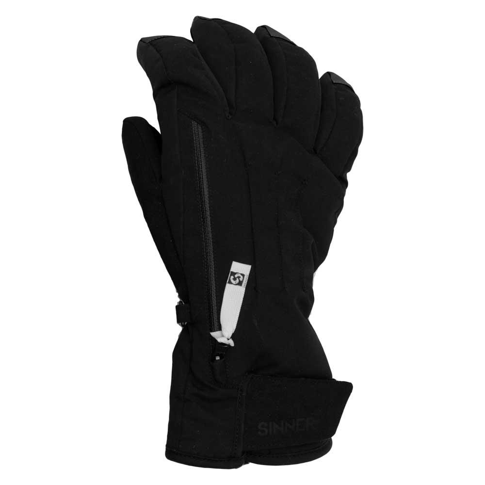 Sinner Womens Sunlight Ski Snowboard Gloves White