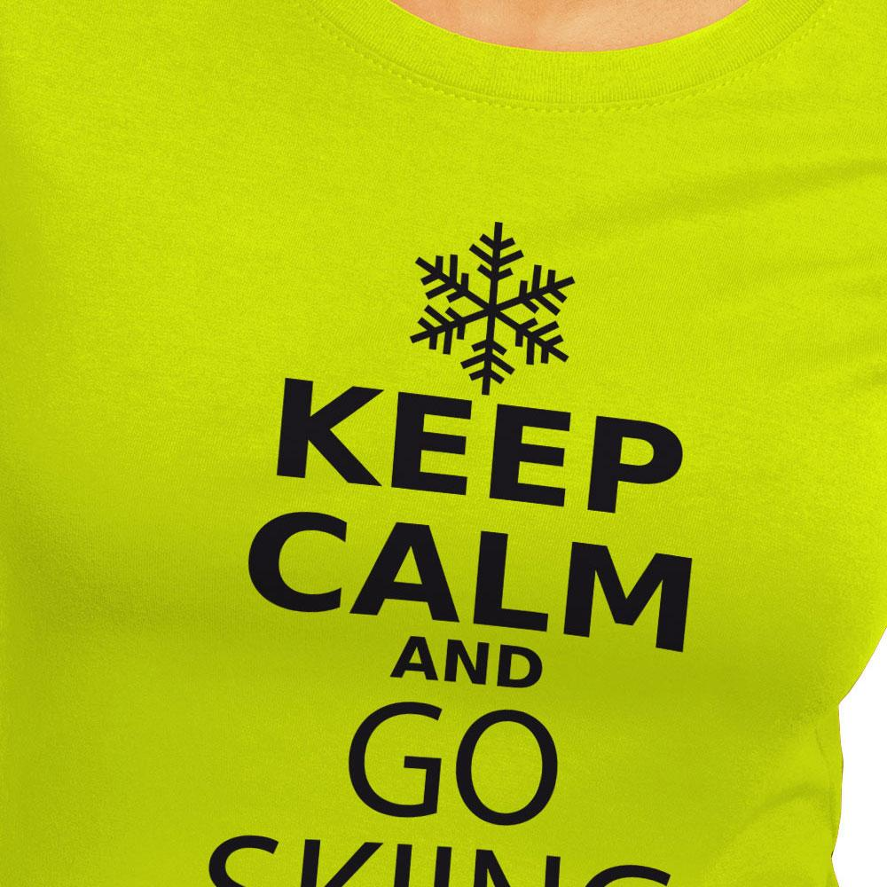 kruskis keep calm and go skiing 緑 snowinn