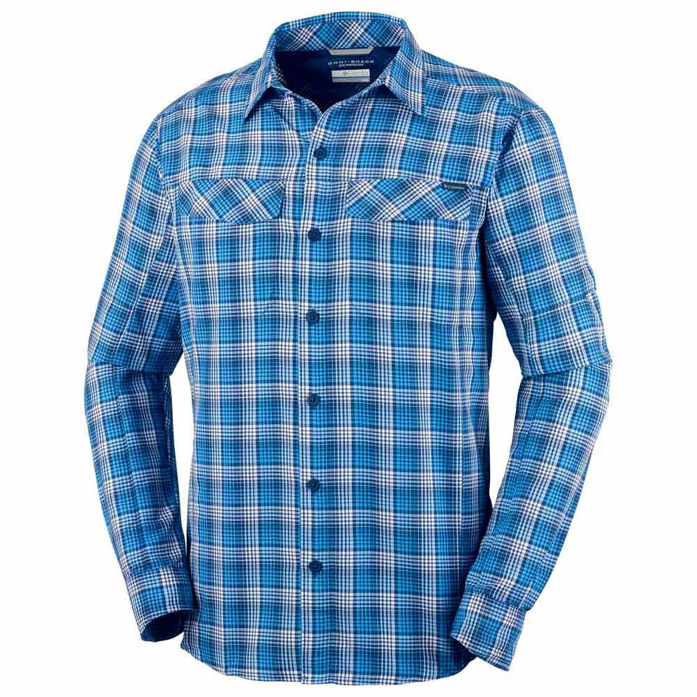 hemden-columbia-silver-ridge-plaid-l-s-shirt