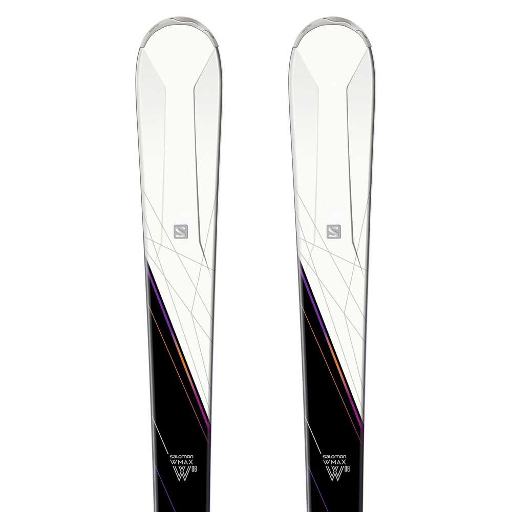 Salomon W Max 8+Mercury 11 White buy and offers on Snowinn