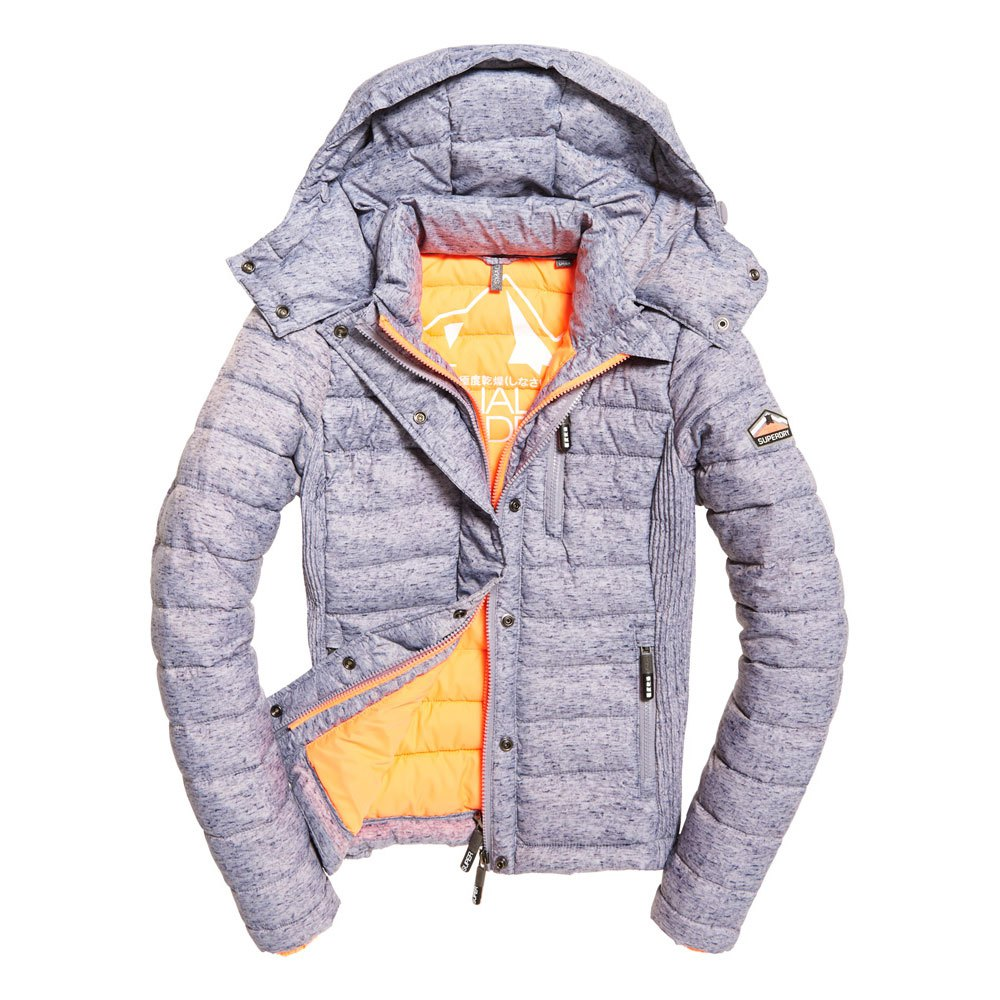Superdry Fuji Slim Double Ziphood