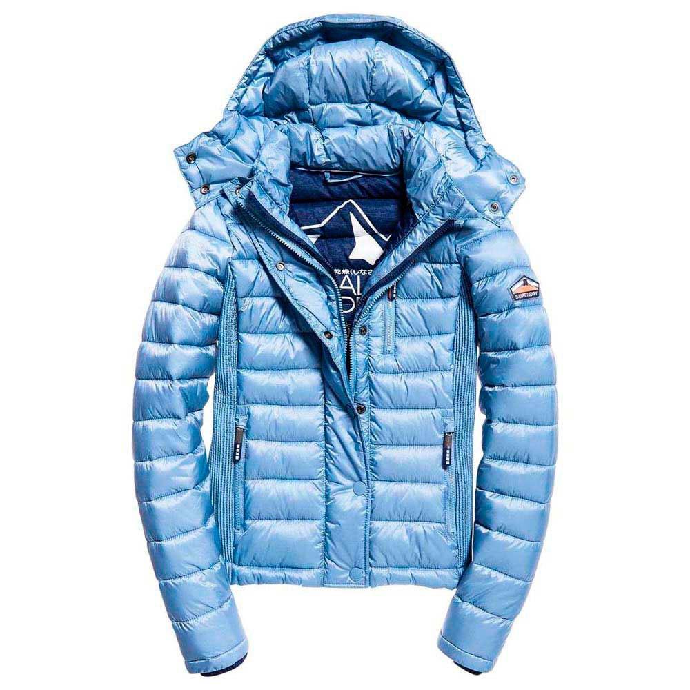 Superdry Womens Fuji Slim Double Ziphood Coat
