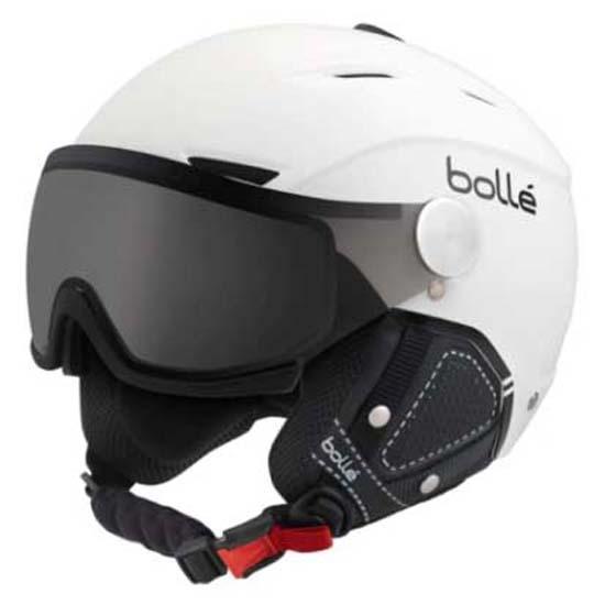 faa584aaa72f Bolle Backline Visor Premium White buy and offers on Snowinn