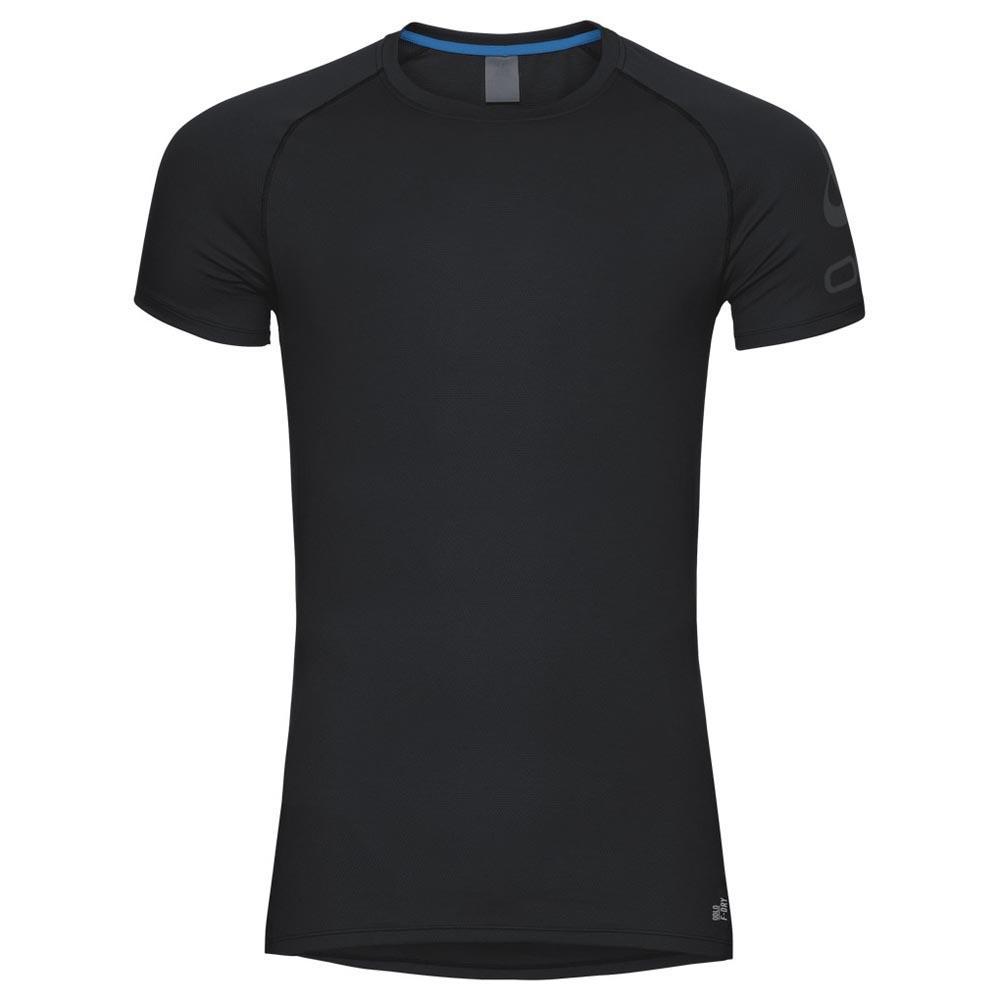 t-shirts-odlo-active-f-dry-light-logo-s-s-s-black