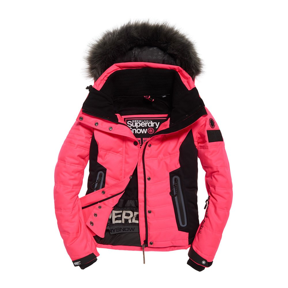 Superdry Luxe Snow Puffer Pink buy and offers on Snowinn 3bb3e488ba59