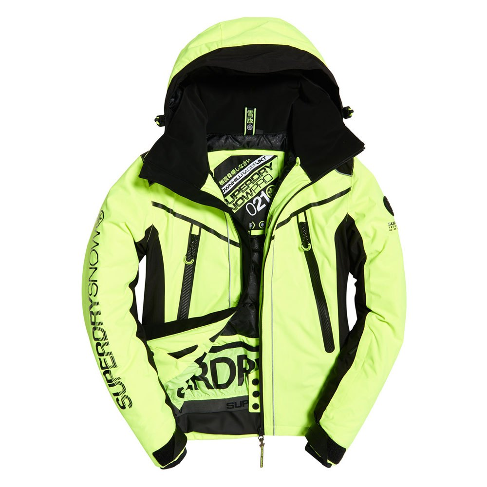 Superdry Downhill Racer Padded Желтый, Snowinn