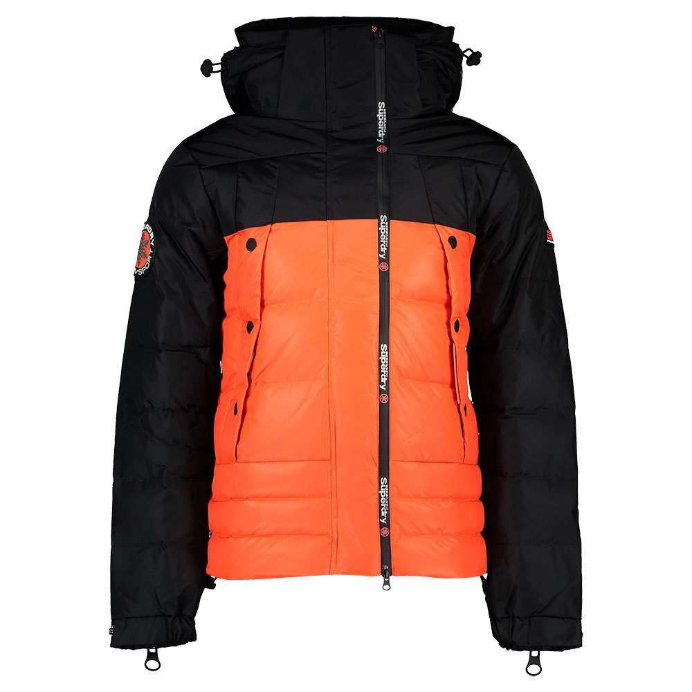 superdry giacche superdry super canadian ski down puffer
