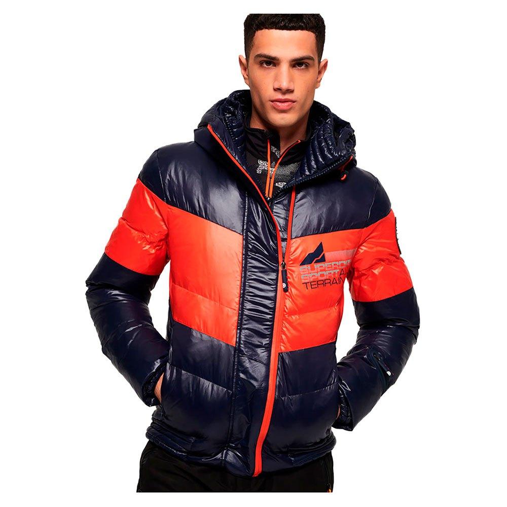 bdd59ad5 Superdry Snow Terrain Down Puffer Oransje, Snowinn