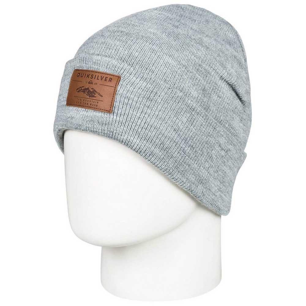 f8d13b6034e Quiksilver Brigade Youth Beanie Grey buy and offers on Snowinn