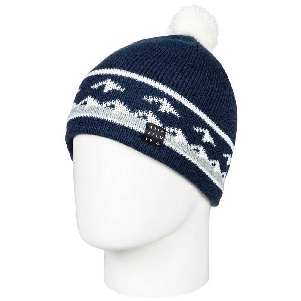 0898c9d82e8 Quiksilver Barrow Youth Beanie Blue buy and offers on Snowinn
