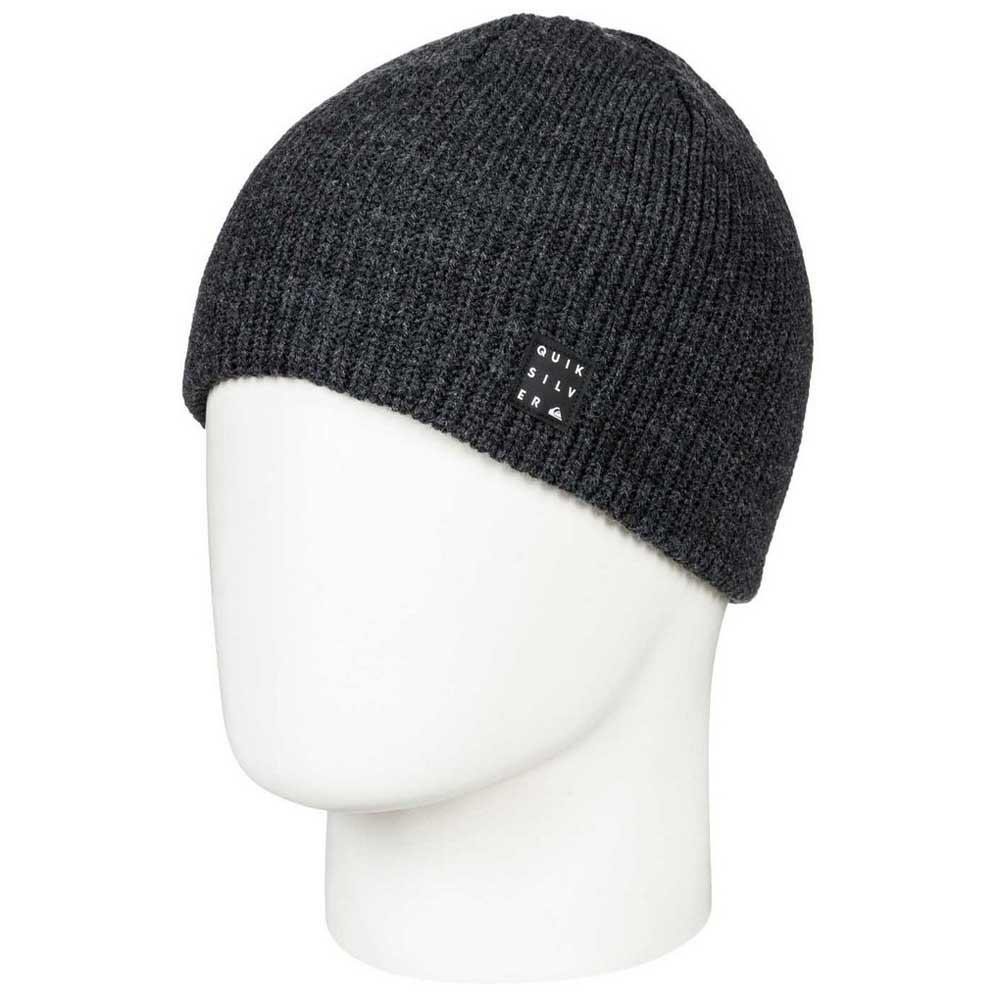 df6a9b994ea Quiksilver Silas Youth Beanie Black buy and offers on Snowinn
