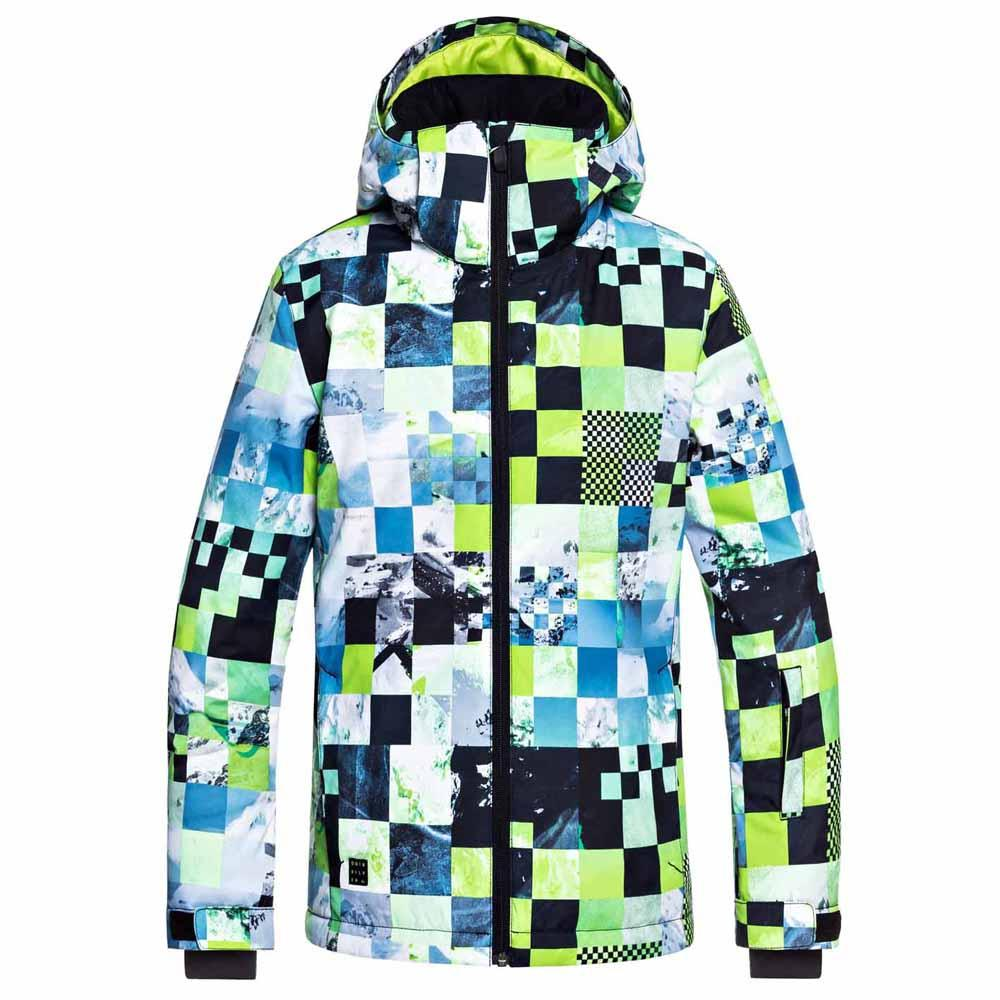 27af70bbc Quiksilver Mission Printed Youth Green buy and offers on Snowinn