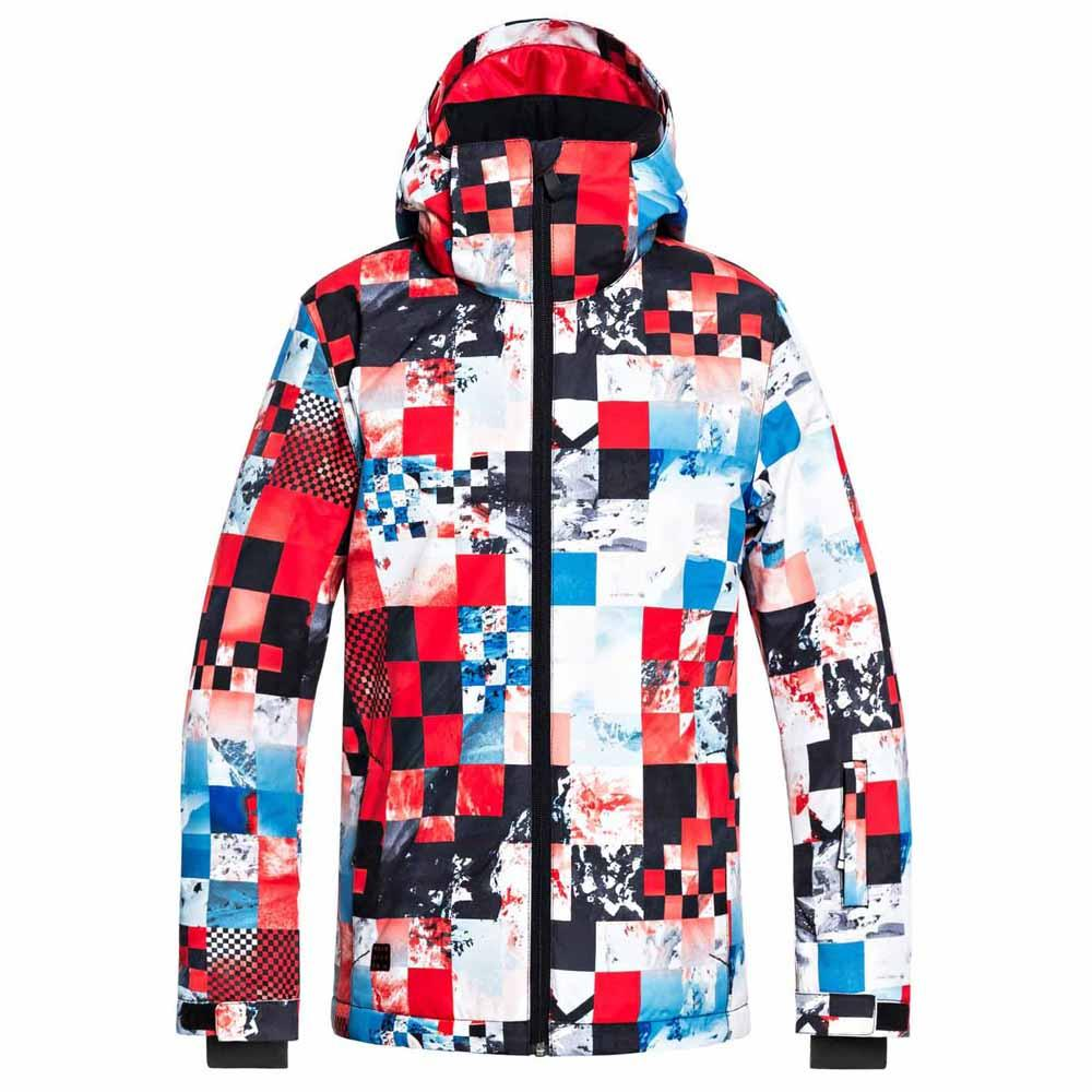 063b7929f Quiksilver Mission Printed Youth Red buy and offers on Snowinn