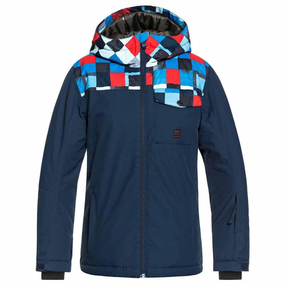 193d5b322 Quiksilver Mission Block Youth Blue buy and offers on Snowinn