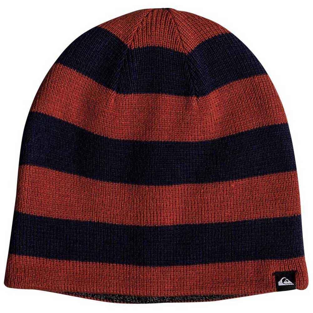 b1c073238f2 Quiksilver Revsible Stripe Beanie Blue buy and offers on Snowinn