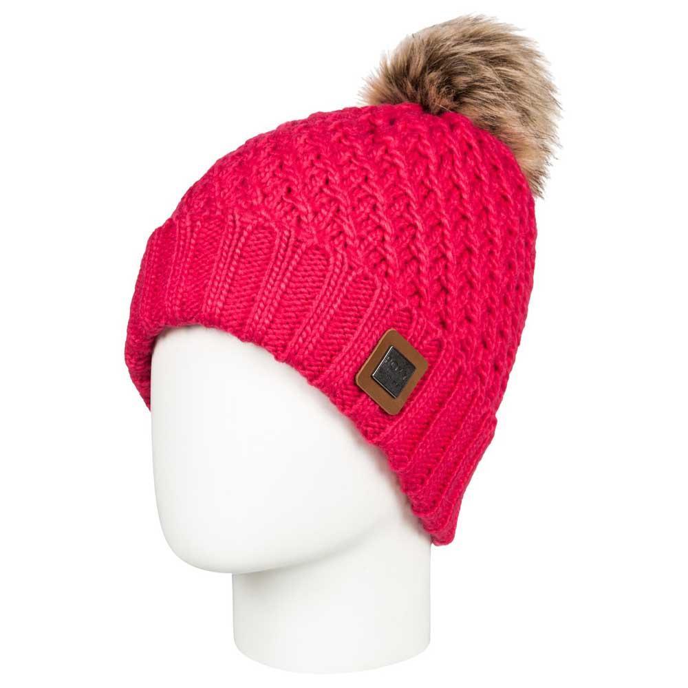 Roxy Blizzard Beanie Pink buy and offers on Snowinn 90760dd9fac