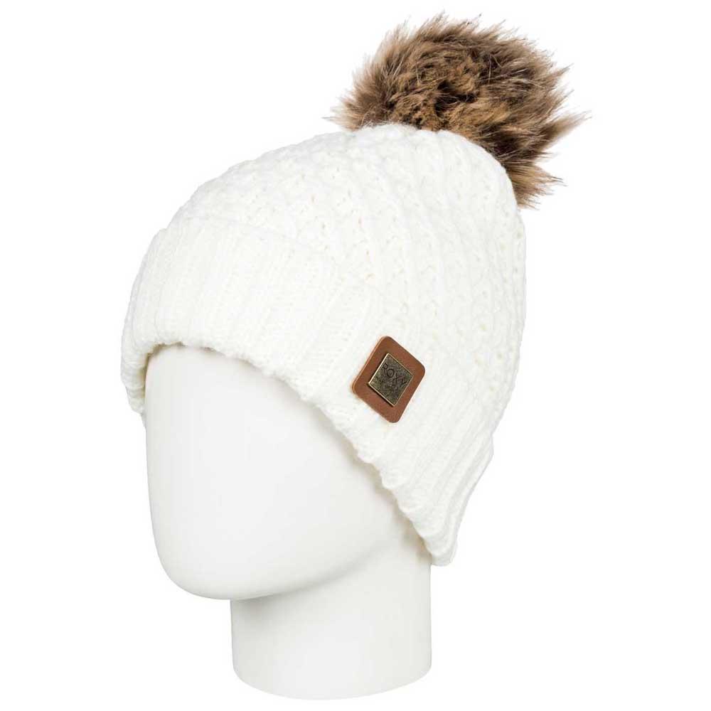 Roxy Blizzard Beanie Gris comprar y ofertas en Snowinn 2232a0c346d