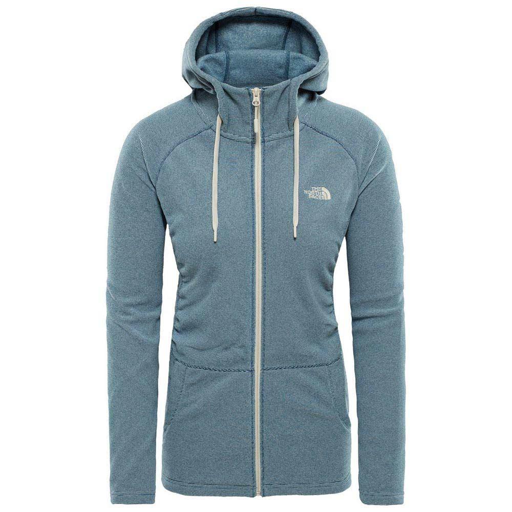 fleece-the-north-face-mezzaluna-full-zip-hoodie, 52.45 EUR @ snowinn-deutschland