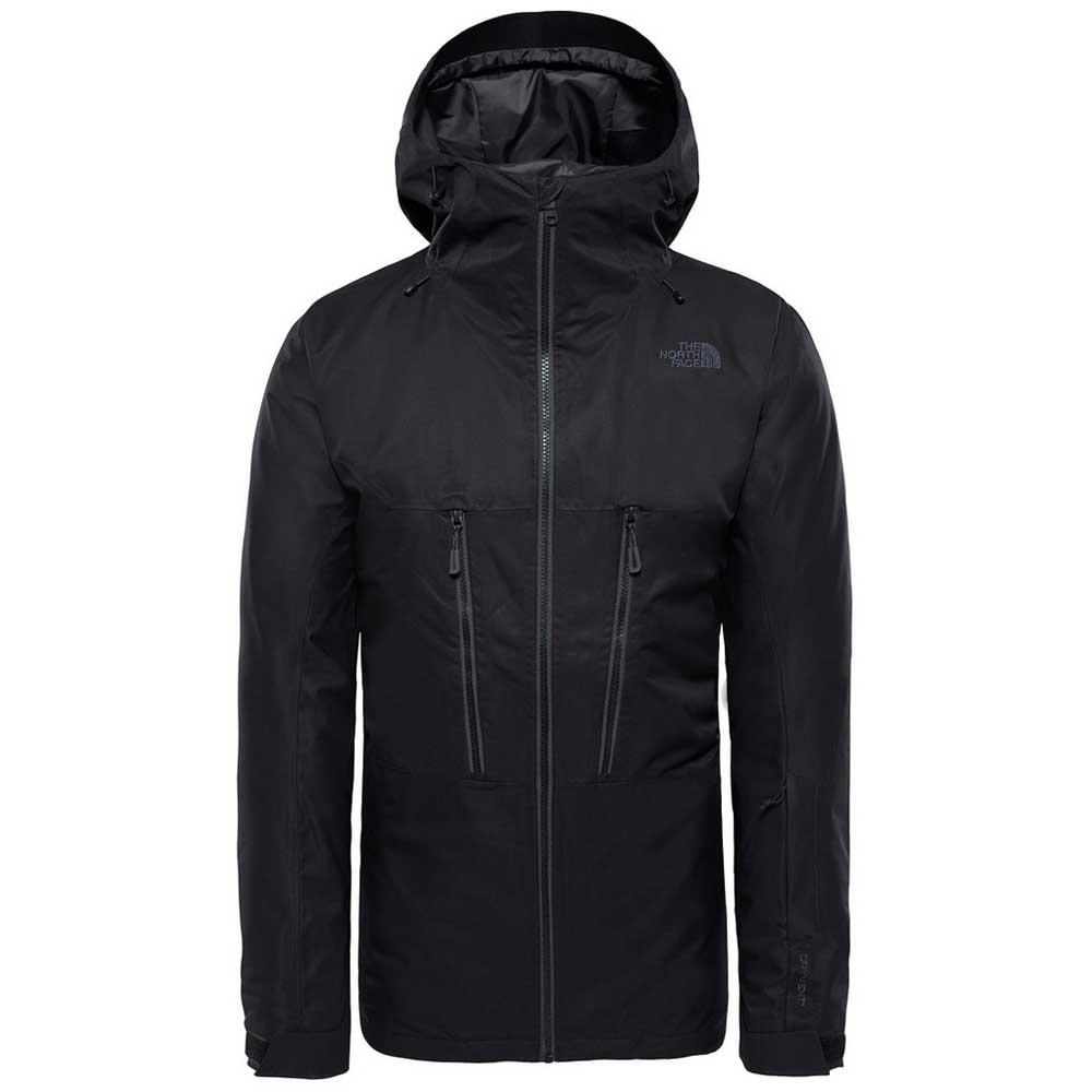 1e4672667 The north face ThermoBall Snow Triclimate Jacket Black, Snowinn