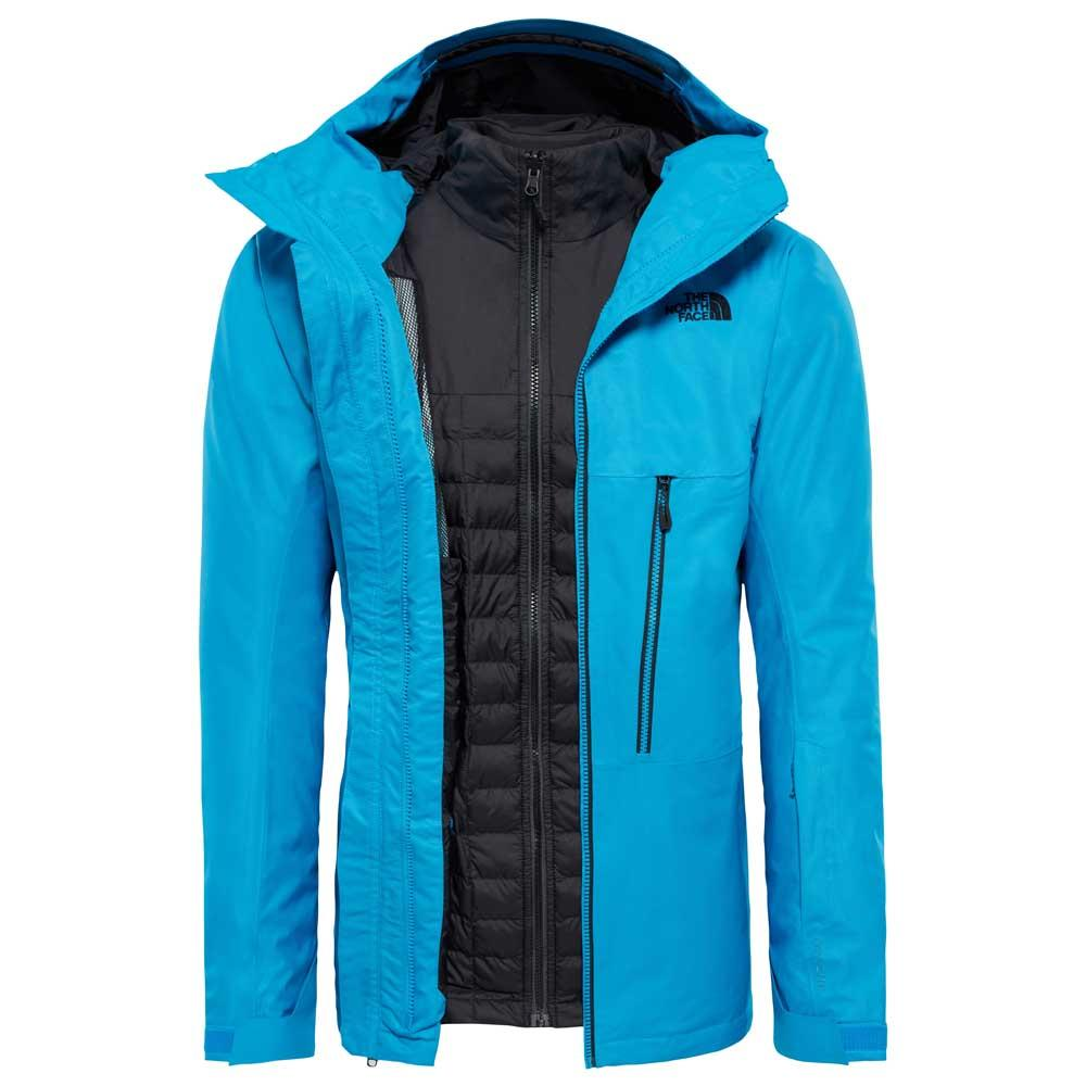kurtka 3w1 the north face thermoball snow triclimate jacket blue