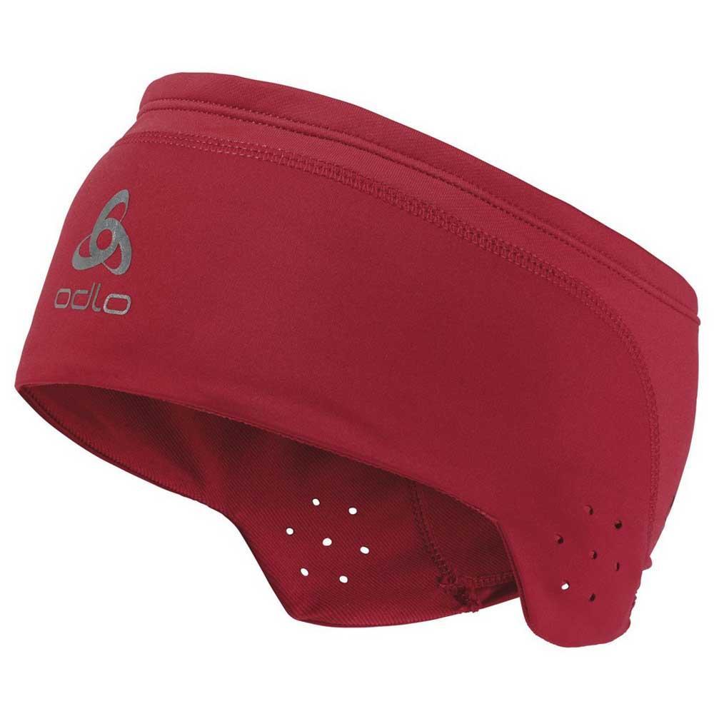 41e7c8449d0 Odlo Ceramiwarm Headband Red buy and offers on Snowinn