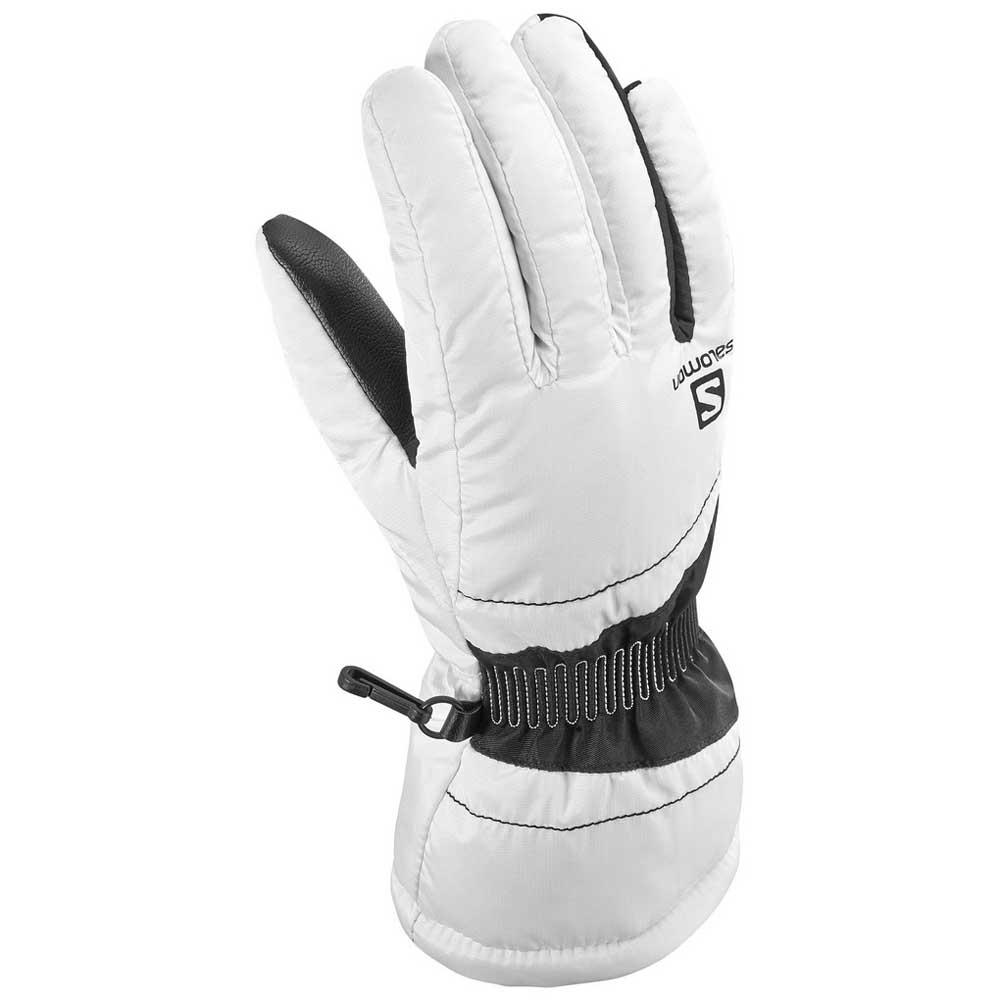Gants Salomon Force L White / Black