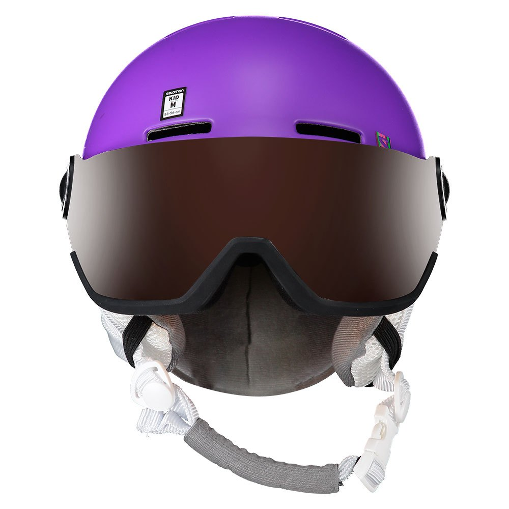0b5d5d0efbc6 Salomon Grom Visor Junior Purple buy and offers on Snowinn