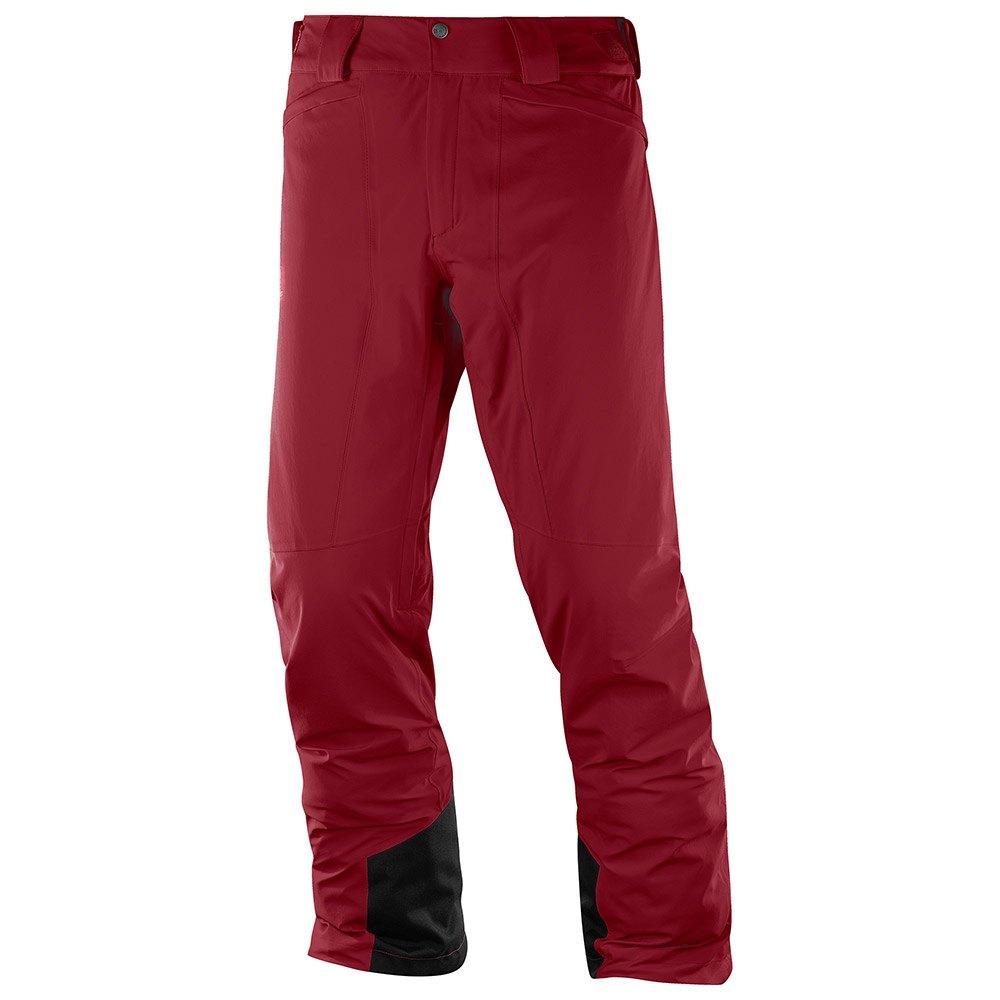hosen-salomon-icemania-xl-biking-red
