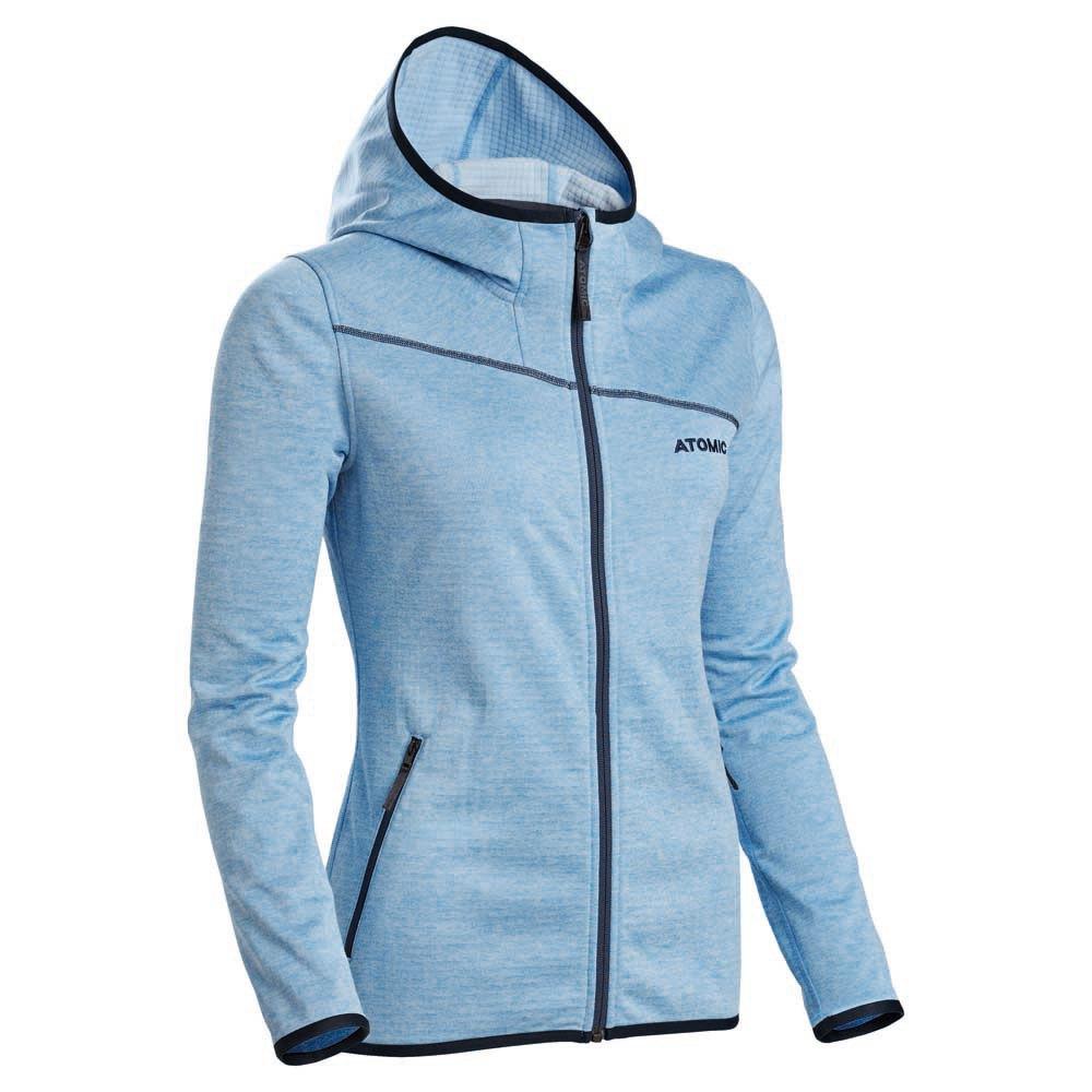 0d2af6b0c598 Atomic Microfleece Hoodie Blue buy and offers on Snowinn