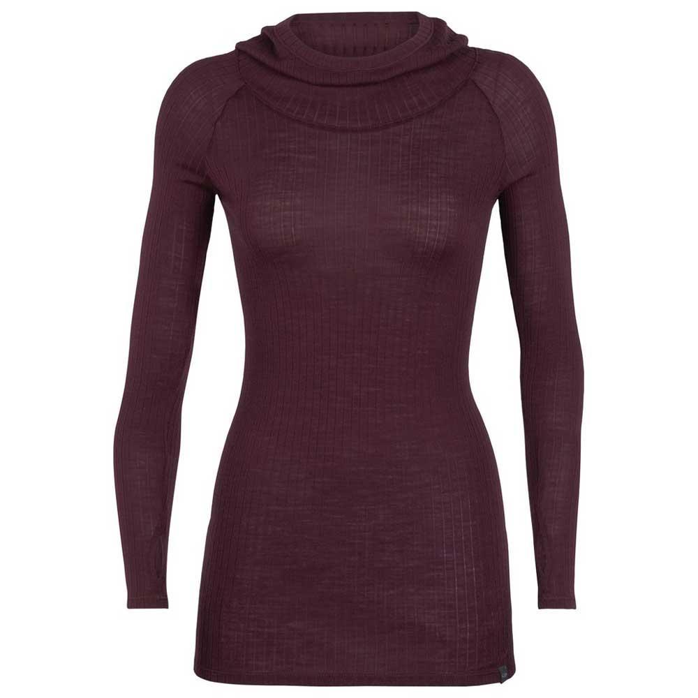 t-shirts-icebreaker-luxe-rib-pullover-hoody, 70.95 EUR @ snowinn-deutschland