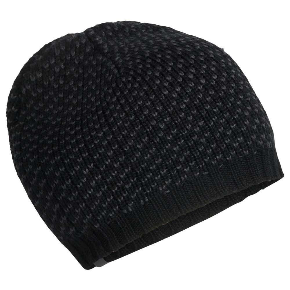 262845e2477 Icebreaker Snow Mix Beanie Black buy and offers on Snowinn