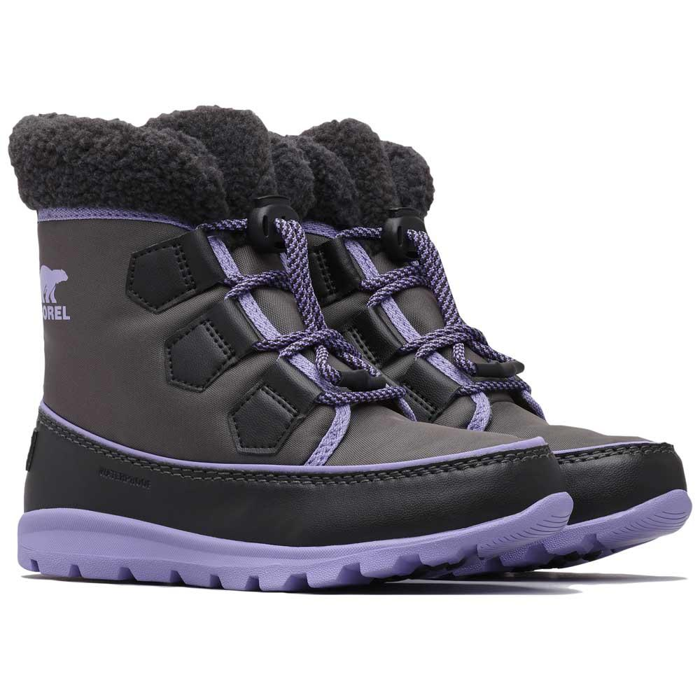 sorel-youth-whitney-carnival-eu-37-dark-grey-paisley-purple
