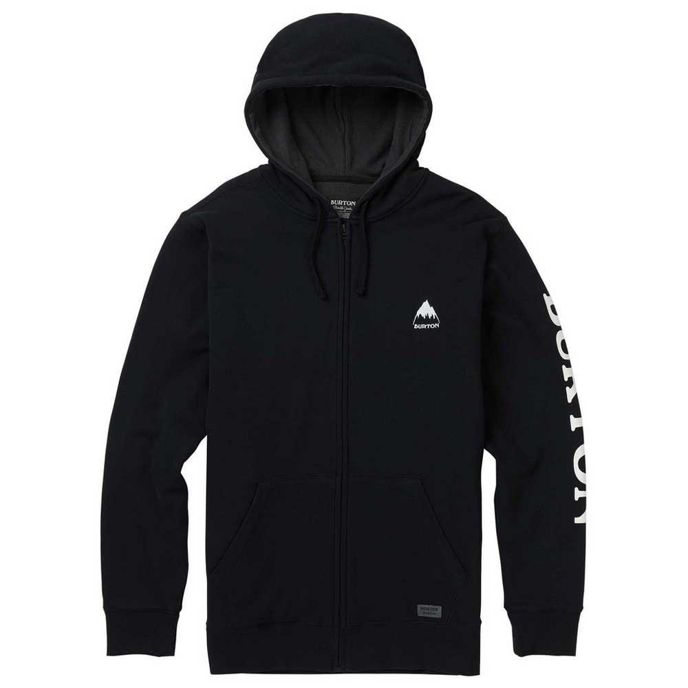 pullover-burton-elite-waffle-full-zip-hoodie