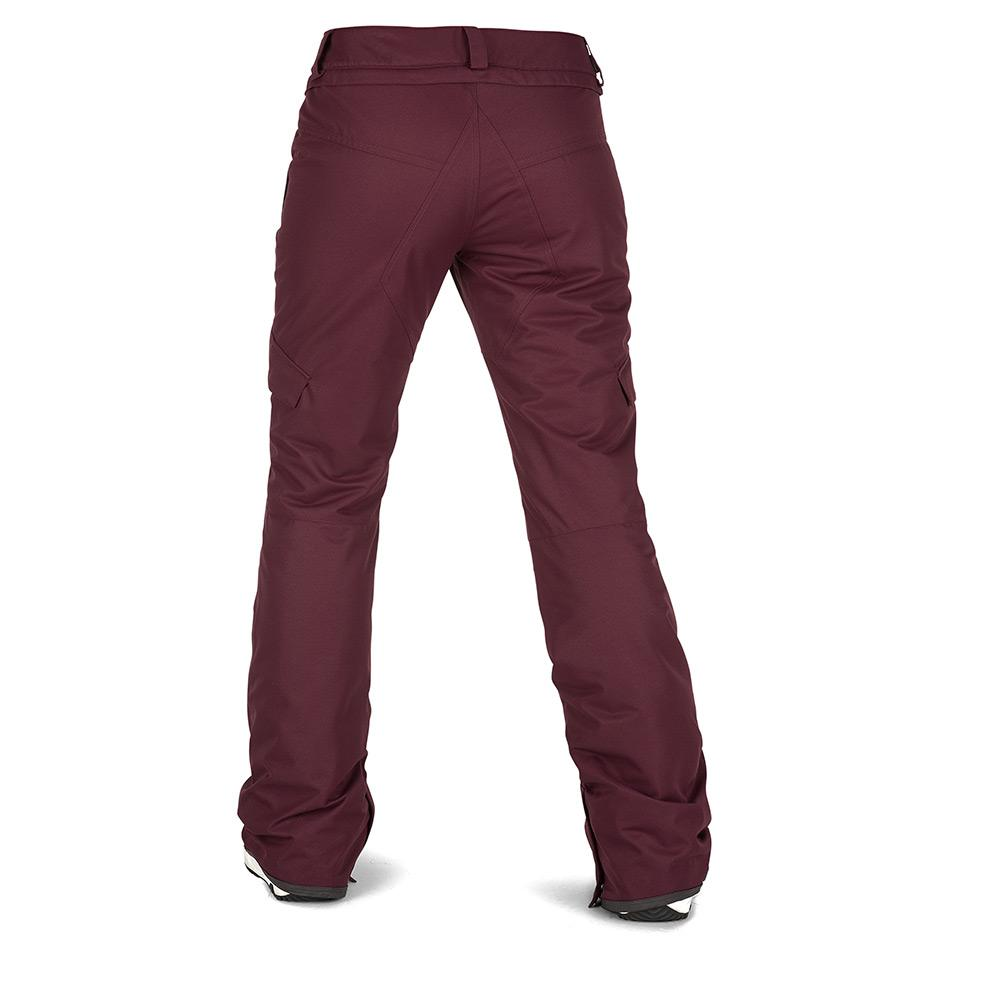 1a87b9171f4 Volcom Bridger Ins Pants Merlot buy and offers on Snowinn
