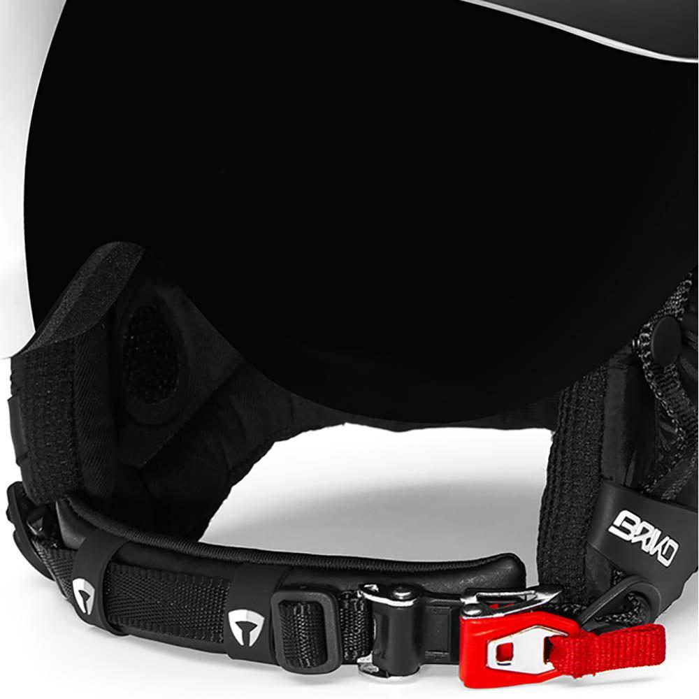 8c357a5c0a3d Briko Stromboli Visor 1V Black buy and offers on Snowinn