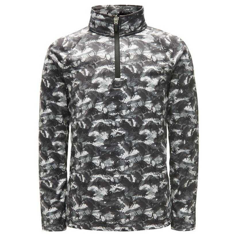 fleece-spyder-mini-limitless-bug-camo-zip-t-neck-4-black-white
