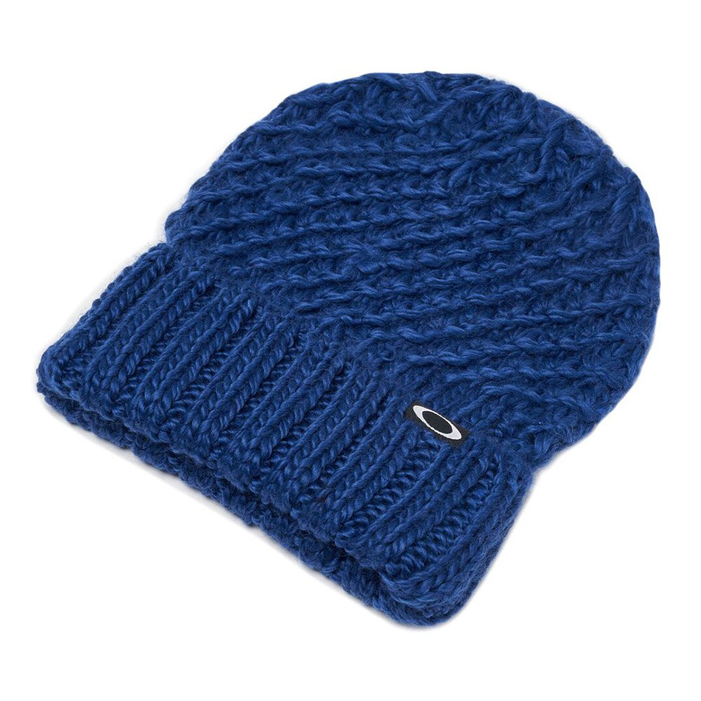 kopfbedeckung-oakley-beanie-mix-yarn-one-size-dark-blue