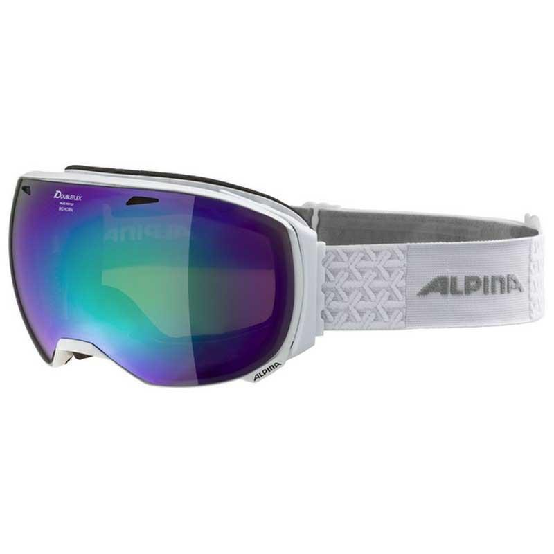 Alpina Big Horn Hm Spherical Black / Orange MM Green Sph/CAT3 White