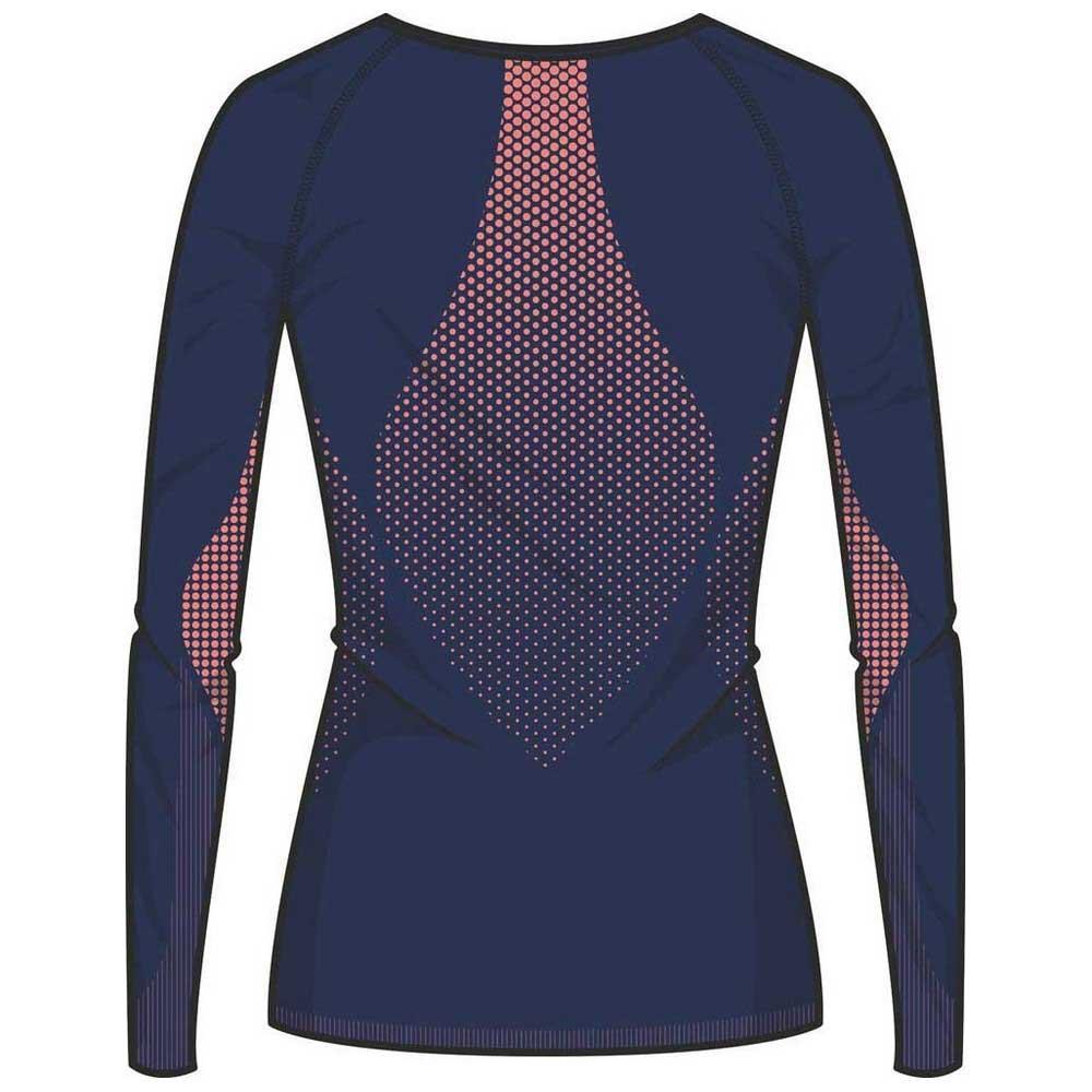 Odlo Shirt L//S Crew Neck Essentials Seamless Ropa Interior Funcional Mujer