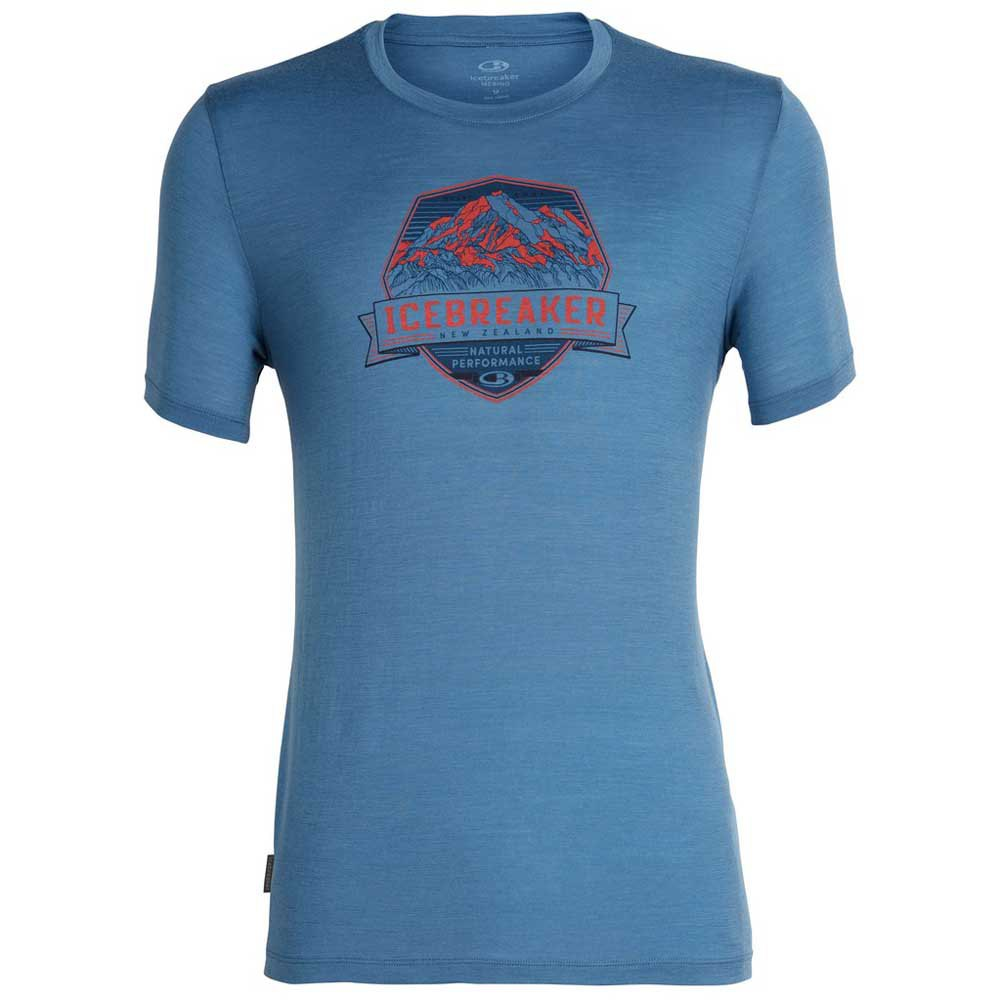 t-shirts-icebreaker-tech-lite-crewe-cook-crest, 58.95 EUR @ snowinn-deutschland