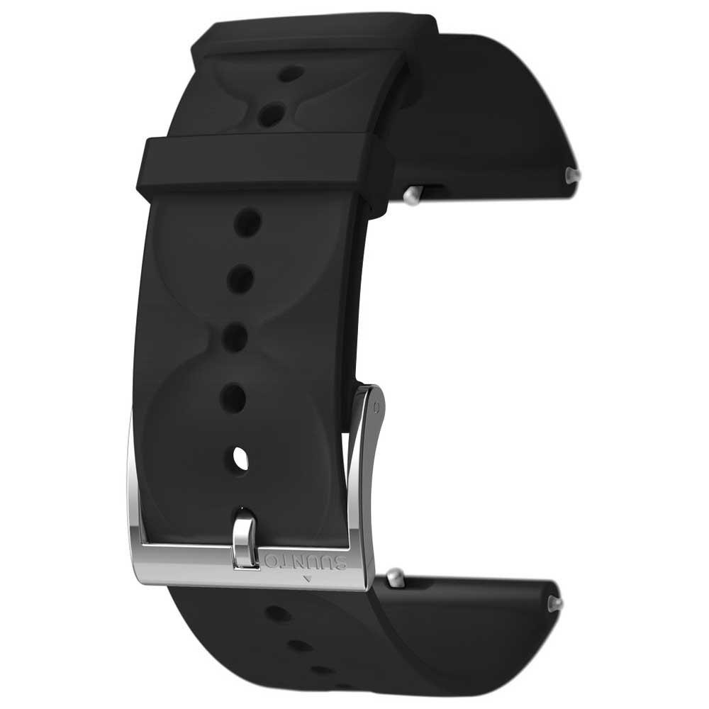 suunto-urban-1-silicone-20mm-s-strap-one-size-black-steel