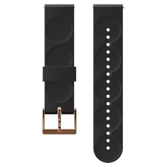 suunto-urban-1-silicone-20mm-s-strap-one-size-black-copper