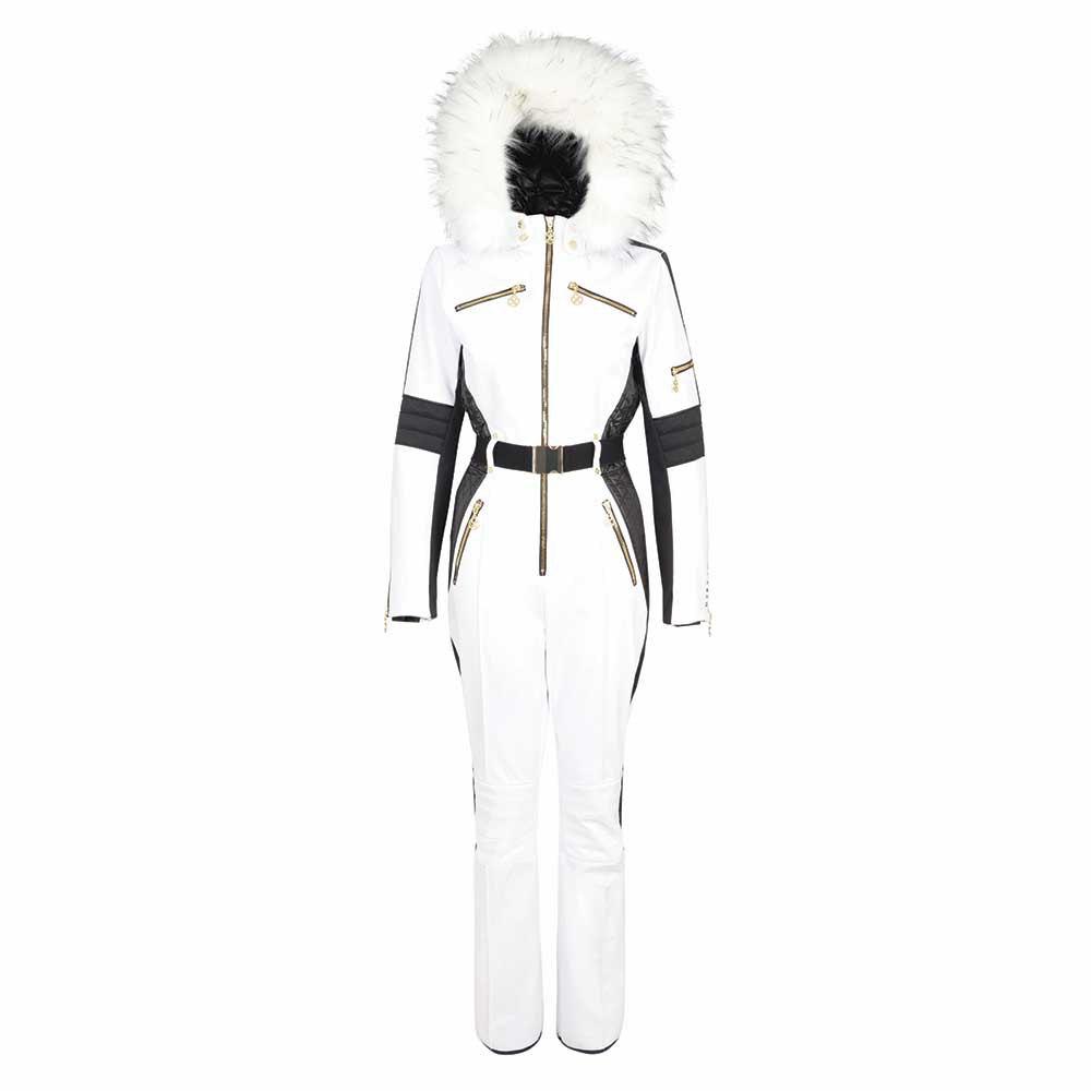 D2B White Ski Suit