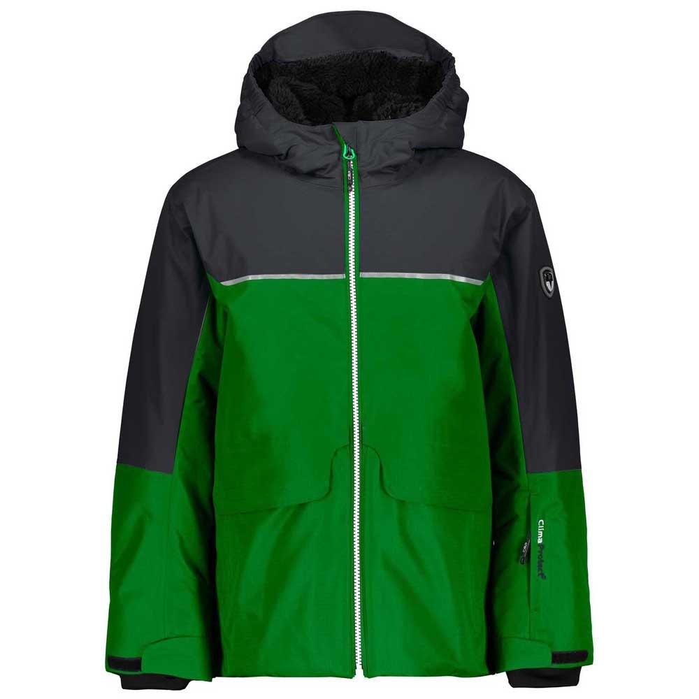 5407966c2 Cmp Boy Jacket Fix Hood Green buy and offers on Snowinn