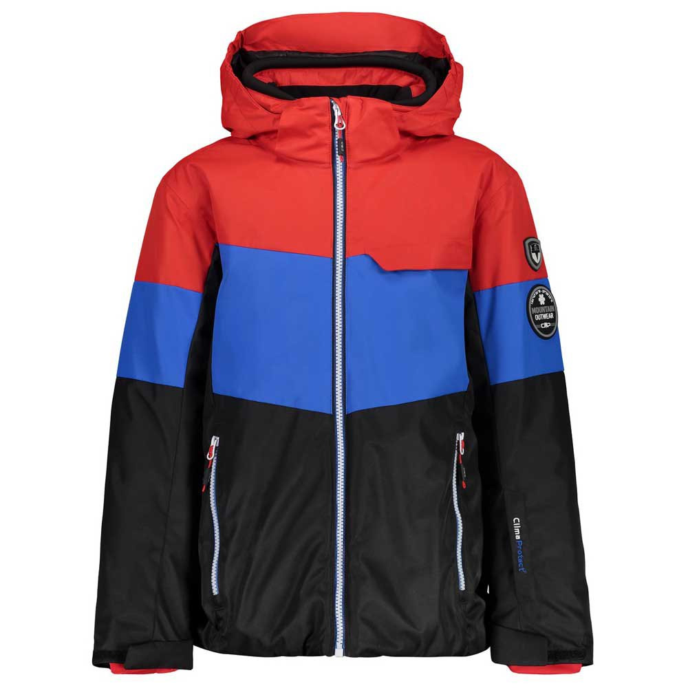 Quiksilver Mission Printed Block Snowboard jacket (barn red