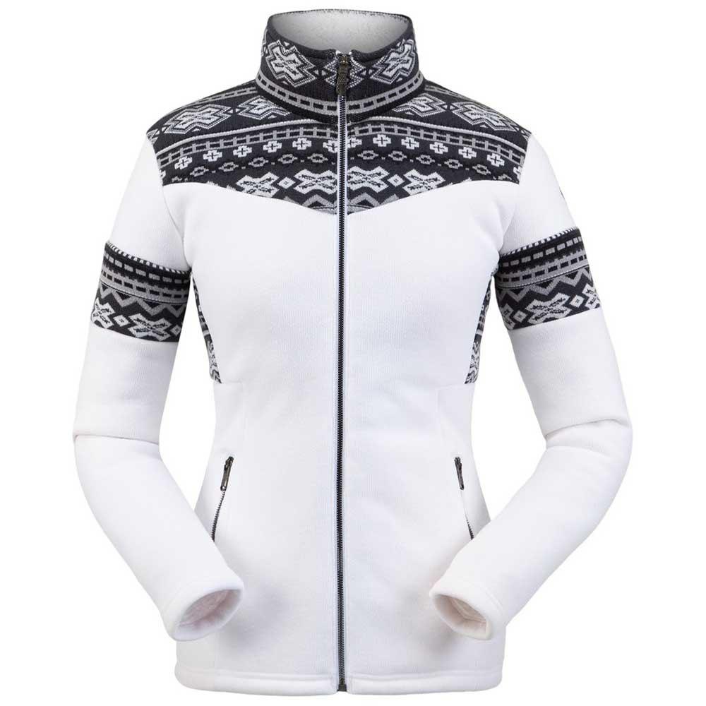 fleece-spyder-bella-jacket-s-white