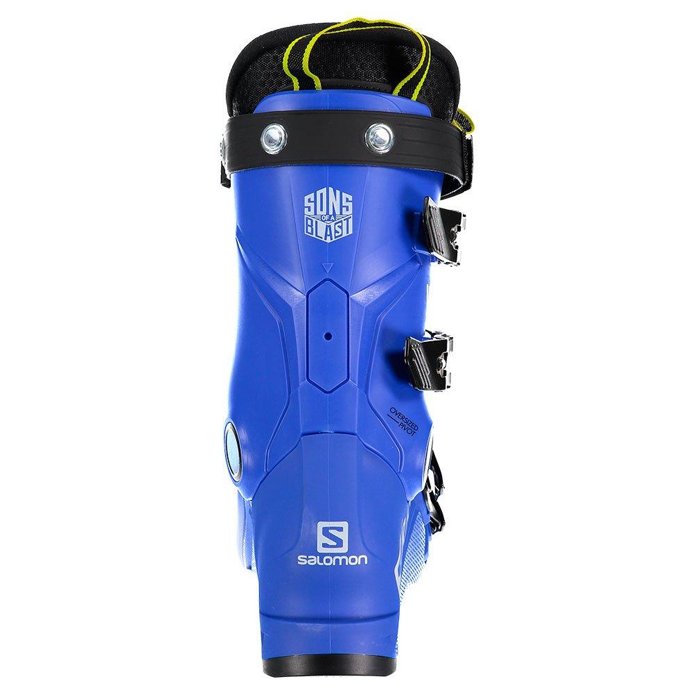 Chaussures De Ski Salomon SRace 70 Race Blue Acid Green